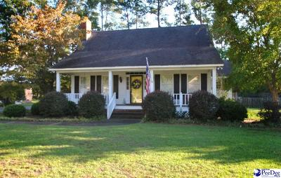 Florence SC Single Family Home For Sale: $179,800