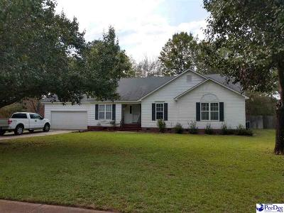 Florence Single Family Home Uc/Show For Back Up: 713 Briarleigh Dr