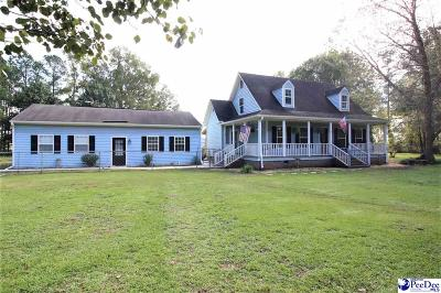 Marion Single Family Home For Sale: 1128 Highway 301
