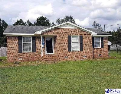 Dillon County Single Family Home For Sale: 1318 Tyler Road