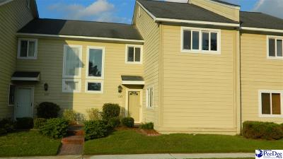 Florence SC Condo/Townhouse For Sale: $105,000