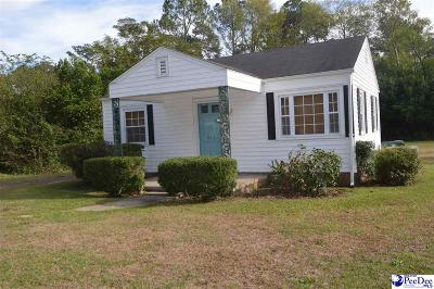 Hartsville Single Family Home New: 923 Hannah Avenue