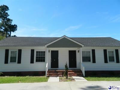 Florence SC Multi Family Home New: $170,000
