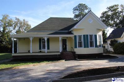 Hartsville Single Family Home For Sale: 307 W College Ave