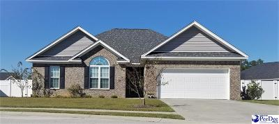 Florence County Single Family Home Uc/Show For Back Up: 2805 Edgeware Ct
