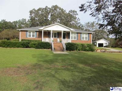 Hartsville SC Single Family Home Uc/Show For Back Up: $260,000