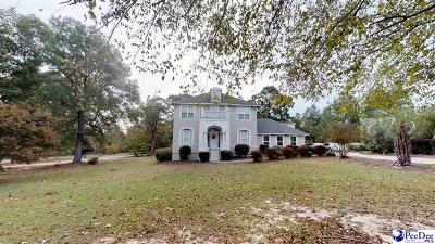 Hartsville Single Family Home For Sale: 311 Woodpecker Lane