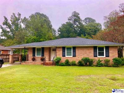 Florence Single Family Home For Sale: 1110 S Edisto Drive