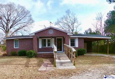 Dillon County Single Family Home For Sale: 2556 Oakland Rd
