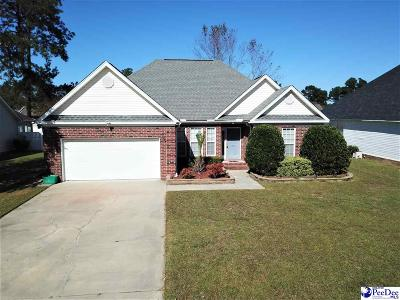 Florence  Single Family Home Uc/Show For Back Up: 1013 Annelle Drive