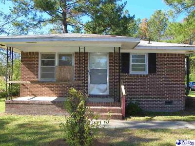 Bennettsville Single Family Home For Sale: 201 Karen Cir