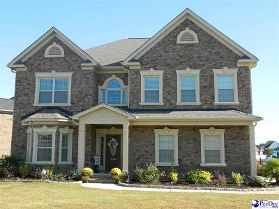 Florence Single Family Home For Sale: 1790 Lake Wateree Drive