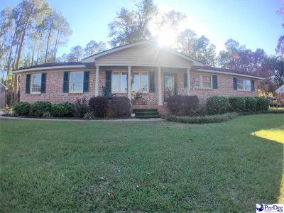 Dillon County Single Family Home For Sale: 1408 E Washington Street