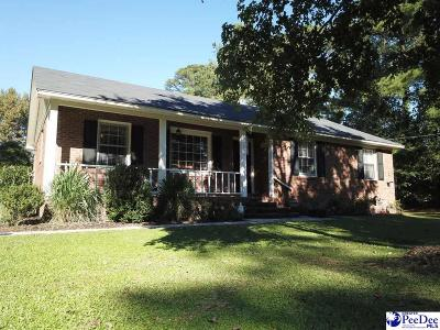 Florence Single Family Home Uc/Show For Back Up: 3819 Pinetree Drive