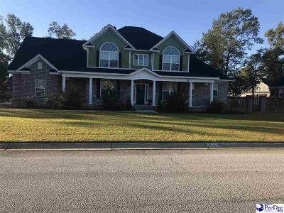 Florence Single Family Home For Sale: 904 Rice Planters