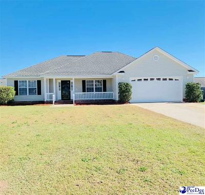 Florence County Single Family Home For Sale: 3666 W Pointe Drive