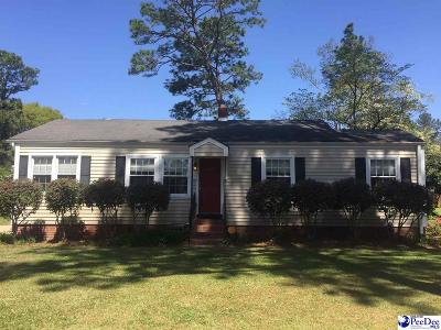 Florence  Single Family Home Uc/Show For Back Up: 1619 Pineland