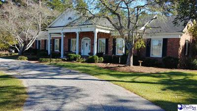 Timmonsville Single Family Home Uc/Show For Back Up: 4432 W Palmetto St