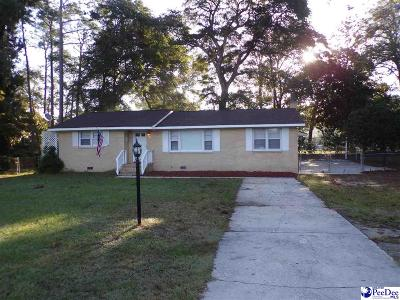 Florence County Single Family Home Uc/Show For Back Up: 402 N Williamson Rd.