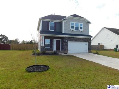 Effingham Single Family Home Uc/Show For Back Up: 1216 Purple Martin Dr