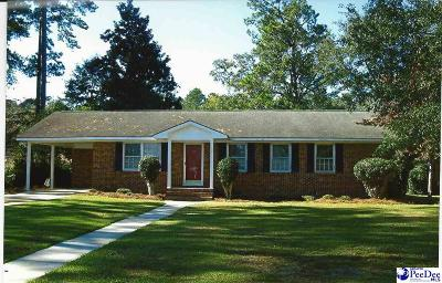 Marion SC Single Family Home For Sale: $110,000