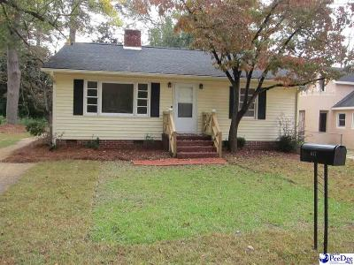 Hartsville Single Family Home Uc/Show For Back Up: 417 Bell Avenue