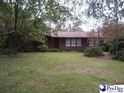 Hartsville Single Family Home Under Contingency Cont: 521 E Richardson Circle