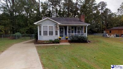 Florence SC Single Family Home For Sale: $87,500