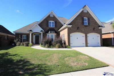 Florence SC Single Family Home For Sale: $318,990