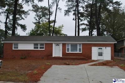 Florence SC Single Family Home For Sale: $108,000