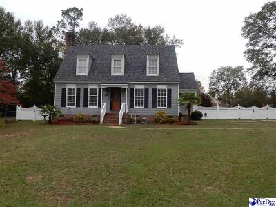 Florence SC Single Family Home For Sale: $172,900