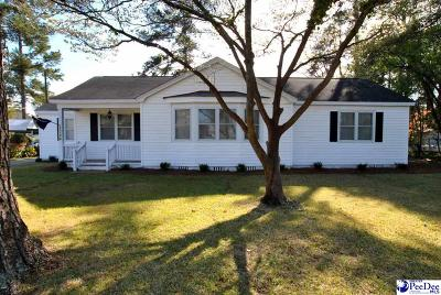 Florence SC Single Family Home Uc/Show For Back Up: $175,000