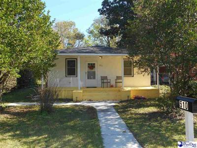 Florence SC Single Family Home For Sale: $65,000