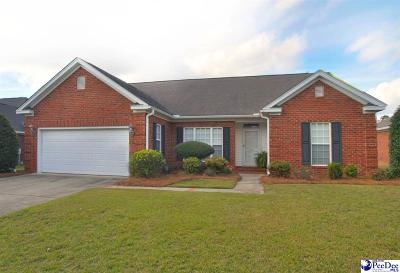 Florence SC Single Family Home For Sale: $184,900