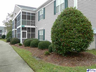 Florence SC Condo/Townhouse For Sale: $69,000