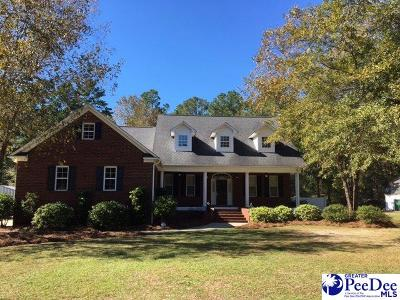 Hartsville SC Single Family Home For Sale: $399,000