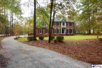 Hartsville SC Single Family Home New: $249,900