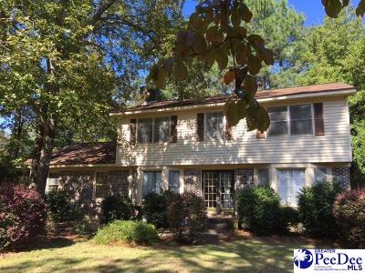 Hartsville SC Single Family Home For Sale: $239,000