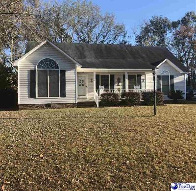 Florence SC Single Family Home New: $157,900