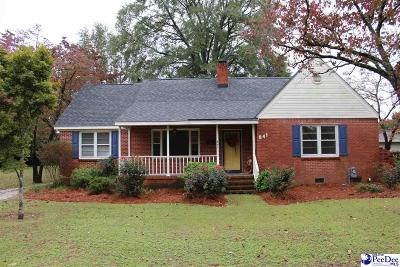 Hartsville Single Family Home For Sale: 841 W Home Avenue