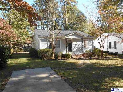 Florence  Single Family Home For Sale: 916 Cheraw Drive