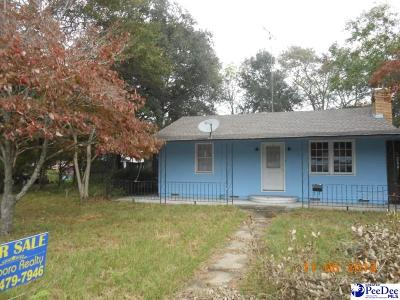 McColl Single Family Home For Sale: 209 Gospel Street