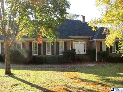 Hartsville SC Single Family Home Active-Price Change: $550,000