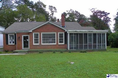 Florence SC Single Family Home For Sale: $90,000