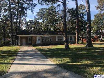 Florence Single Family Home For Sale: 3612 Carroll Drive