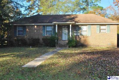 Florence  Single Family Home For Sale: 2237 Peachtree Street