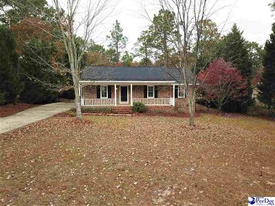 Hartsville Single Family Home For Sale: 1036 Wellington Drive