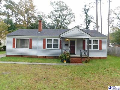 Florence Single Family Home Uc/Show For Back Up: 908 Mimosa Drive