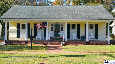 Florence  Single Family Home For Sale: 865 Congaree Drive