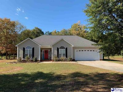 Hartsville Single Family Home For Sale: 2762 Flushing Covey